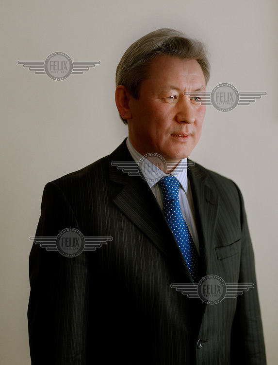 Zhaksybek Kulekeev, Vice President of KazMunayGas, the state oil and gas company