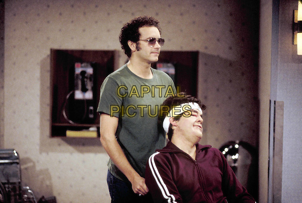 "DANNY MASTERSON & ASHTON KUTCHER.in That 70's Show.""The Kids Are Alright"".Filmstill - Editorial Use Only.Ref: FB.www.capitalpictures.com.sales@capitalpictures.com.Supplied by Capital Pictures"
