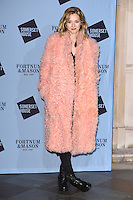 Portia Freeman<br /> at the launch of the Skate at Somerset House ice rink, London.<br /> <br /> ©Ash Knotek  D3199  16/11/2016
