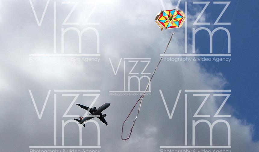 BOGOTA-COLOMBIA-17-AGOSTO-2015.Agosto mes de los vientos y las cometas/ August month of wind and kites.Foto:VizzorImage / Felipe Caicedo / Staff