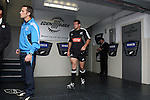 Carl Hayman takes to the field to warm up before the first international rugby test at Eden Park, Auckland, New Zealand, Saturday, June 02, 2007. The All Blacks beat France 42-11.