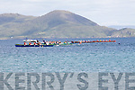 Action from the start of the Girls U14 race at the Ballinskelligs Regatta on Sunday.