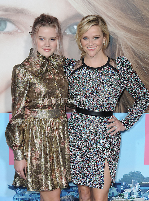www.acepixs.com<br /> <br /> February 7 2017, LA<br /> <br /> Ava Elizabeth Phillippe and Reese Witherspoon arriving at the premiere Of HBO's 'Big Little Lies' at the TCL Chinese Theatre on February 7, 2017 in Hollywood, California.<br /> <br /> By Line: Peter West/ACE Pictures<br /> <br /> <br /> ACE Pictures Inc<br /> Tel: 6467670430<br /> Email: info@acepixs.com<br /> www.acepixs.com
