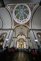 BUGA -COLOMBIA. Basílica de Nuestro Señor de los Milagros, Buga, Valle del Cauca, Colombia /  Basilica of Our Lord of Miracles, Buga, Valle del Cauca, Colombia. Photo: VizzorImage/CONT
