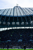 A general view of Tottenham Hotspur Stadium, home of Tottenham Hotspur<br /> <br /> Photographer Stephanie Meek/CameraSport<br /> <br /> The Premier League - Tottenham Hotspur v Bournemouth - Saturday 30th November 2019 - Tottenham Hotspur Stadium - London<br /> <br /> World Copyright © 2019 CameraSport. All rights reserved. 43 Linden Ave. Countesthorpe. Leicester. England. LE8 5PG - Tel: +44 (0) 116 277 4147 - admin@camerasport.com - www.camerasport.com