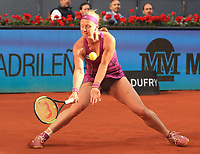 Kiki Bertens, Netherlands, during Madrid Open Tennis 2018 Final match. May 12, 2018.(ALTERPHOTOS/Alberto Simon)