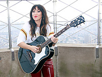 NEW YORK, NY - OCTOBER 9: Grammy-nominated singer-songwriter, KT Tunstall, performs her classic hit Suddenly I See at The Empire State Building promoting her new album, 'Wax' in New York City on October 9, 2018. <br /> CAP/MPI99<br /> &copy;MPI99/Capital Pictures