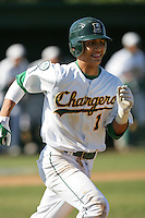 April 7, 2010: Timmy Lopes of Edison High School during National Classic Tournament in Anaheim,CA.  Photo by Larry Goren/Four Seam Images