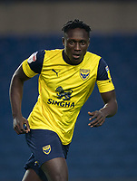 Daniel Agyei (on loan from Burnley) of Oxford United during the The Leasing.com Trophy match between Oxford United and Norwich City U21 at the Kassam Stadium, Oxford, England on 3 September 2019. Photo by Andy Rowland.