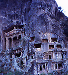 Lycian Rock Tombs - Fethiye-Turkey