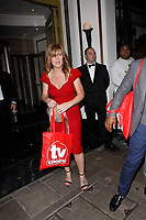 LONDON, ENGLAND - SEPTEMBER 10 :  Siobhan Finneran leaves the TV Choice Awards 2018, at The Dorchester hotel, on September 10, 2018 in London, England.<br /> CAP/AH<br /> &copy;AH/Capital Pictures