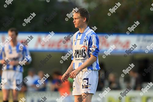 2010-08-11 / Voetbal / seizoen 2010-2011 / Verbroedering Geel-Meerhout / Bart Van Hees..Foto: mpics