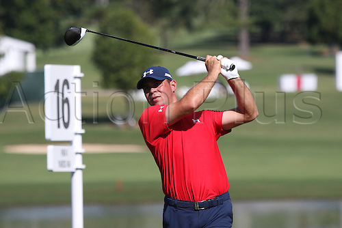 23.09.2016. Atlanta, Georgia, USA.   Gary Woodland during the second round of the 2016 PGA Tour Championship at East Lake Golf Club in Atlanta, Georgia.