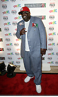 CEDRIC THE ENTERTAINER (Cedric Antonio Kyles).The Ante Up for Africa Celebrity Poker Tournament at the Rio Resort Hotel and Casino, Las Vegas, Nevada, USA..July 2nd, 2009.full length blue suit red baseball cap hat hand.CAP/ADM/MJT.© MJT/AdMedia/Capital Pictures