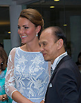 """CATHERINE, DUCHESS OF CAMBRIDGE AND PRINCE WILLIAM.attend High Commission Reception, Kuala Lumpur_14/09/2012.The couple meet Hollywood actress Michelle Yeoh and shoe designer Jimmy Choo.Mandatory credit photo: ©Dias/DIASIMAGES..(Failure to credit will incur a surcharge of 100% of reproduction fees)..                **ALL FEES PAYABLE TO: """"NEWSPIX INTERNATIONAL""""**..IMMEDIATE CONFIRMATION OF USAGE REQUIRED:.DiasImages, 31a Chinnery Hill, Bishop's Stortford, ENGLAND CM23 3PS.Tel:+441279 324672  ; Fax: +441279656877.Mobile:  07775681153.e-mail: info@newspixinternational.co.uk"""
