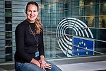 BRUSSELS - BELGIUM - 14 November 2018 -- Iina LIETZEN, press officer for Finnish language at the European Parliament. -- PHOTO: Juha ROININEN / EUP-IMAGES