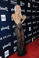 www.acepixs.com<br /> May 6, 2017  New York City<br /> <br /> Gigi Gorgeous attending arrivals at GLAAD Media Awards on May 6, 2017 in New York City.<br /> <br /> Credit: Kristin Callahan/ACE Pictures<br /> <br /> <br /> Tel: 646 769 0430<br /> Email: info@acepixs.com