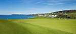 PORTRUSH - Hole 5.  ROYAL PORTRUSH GOLF CLUB. The Dunluce Championship Course.COPYRIGHT KOEN SUYK