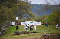 Justin Thomas (USA) and Francesco Molinari (ITA) look over their tee shots on 11 during day 3 of the World Golf Championships, Dell Match Play, Austin Country Club, Austin, Texas. 3/23/2018.<br /> Picture: Golffile | Ken Murray<br /> <br /> <br /> All photo usage must carry mandatory copyright credit (&copy; Golffile | Ken Murray)
