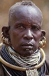 A Turkana woman - Kakuma..Northern Kenya.....