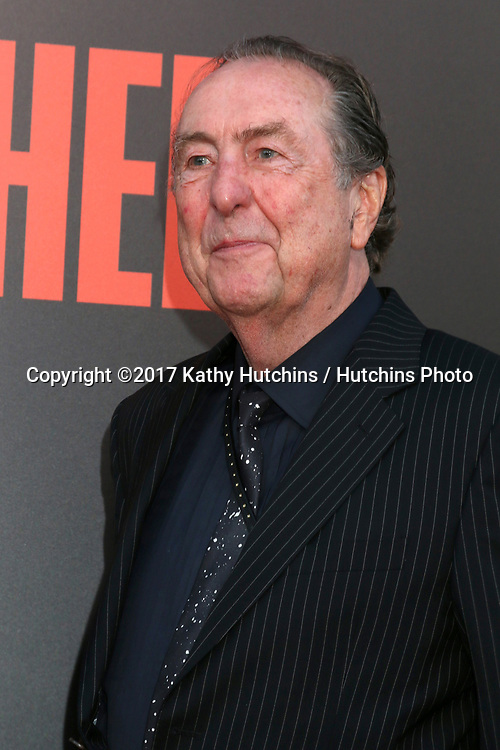 "LOS ANGELES - MAY 10:  Eric Idle at the ""Snatched"" World Premiere at the Village Theater on May 10, 2017 in Westwood, CA"