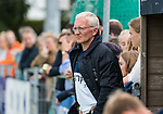 AMSTELVEEN  - coach Hans Oostindie (Pin), hoofdklasse hockeywedstrijd dames Pinole-Laren (1-3). COPYRIGHT  KOEN SUYK