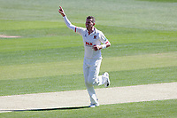 Peter Siddle of Essex celebrates taking the wicket of Samit Patel during Essex CCC vs Nottinghamshire CCC, Specsavers County Championship Division 1 Cricket at The Cloudfm County Ground on 14th May 2019