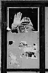 "Poster of Palestinian President ""yasser Arafat in Gaza. Photo by Quique Kierszenbaum"