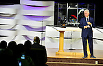 MIAMI GARDENS, FL - OCTORBER 23: Former U.S. President Bill Clinton attends The Fountain of New Life Church on Sunday October 23, 2016 in Miami Gardens, Florida.  ( Photo by Johnny Louis / jlnphotography.com )