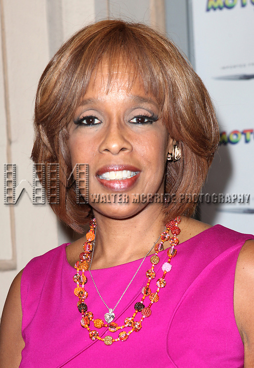 Gayle King attending the Broadway World Premiere Launch for 'Motown: The Musical' at the Nederlander in New York. Sept. 27, 2012