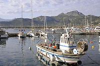 - Corsica, Calvi, view of the port<br /> <br /> - Corsica, Calvi, veduta del porto