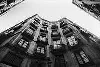 Barcellona, Spagna, Catalogna,  barrio Chino, quartiere chino, città vecchia,