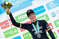Picture by Alex Whitehead/SWpix.com - 03/05/2018 - Cycling - 2018 Asda Women's Tour de Yorkshire - Stage 1: Beverley to Doncaster - Kirsten Wild of Wiggle High5 wins Stage 1 in Doncaster.