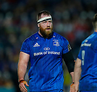 28th February 2020; RDS Arena, Dublin, Leinster, Ireland; Guinness Pro 14 Rugby, Leinster versus Glasgow; Michael Bent of Leinster during a break in play