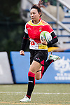 Huimin Zhou of China runs in a try during the Asia Rugby U20 Sevens 2017 at King's Park Sports Ground on August 4, 2017 in Hong Kong, China. Photo by Yu Chun Christopher Wong / Power Sport Images
