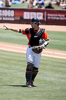 Andrew Susac, Oregon State Beavers, playing against the Arizona State Sun Devils at Packard Stadium, Tempe, AZ - 05/23/2010.Photo by:  Bill Mitchell/Four Seam Images.