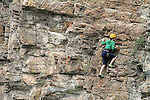 IMAGES OF THE YUKON,CANADA , ROCK REPELLING