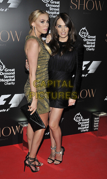 LONDON, ENGLAND - JULY 02: Petra Ecclestone &amp; Tamara Ecclestone attend the F1 Party, Victoria &amp; Albert Museum, Cromwell Rd., on Wednesday July 02, 2014 in London, England, UK.<br /> CAP/CAN<br /> &copy;Can Nguyen/Capital Pictures