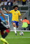 Marcelo (BRA),<br /> JULY 8, 2014 - Football / Soccer : FIFA World Cup 2014 semi-finals match between Brazil 1-7 Germany at Mineirao stadium in Belo Horizonte, Brazil.<br /> (Photo by FAR EAST PRESS/AFLO)