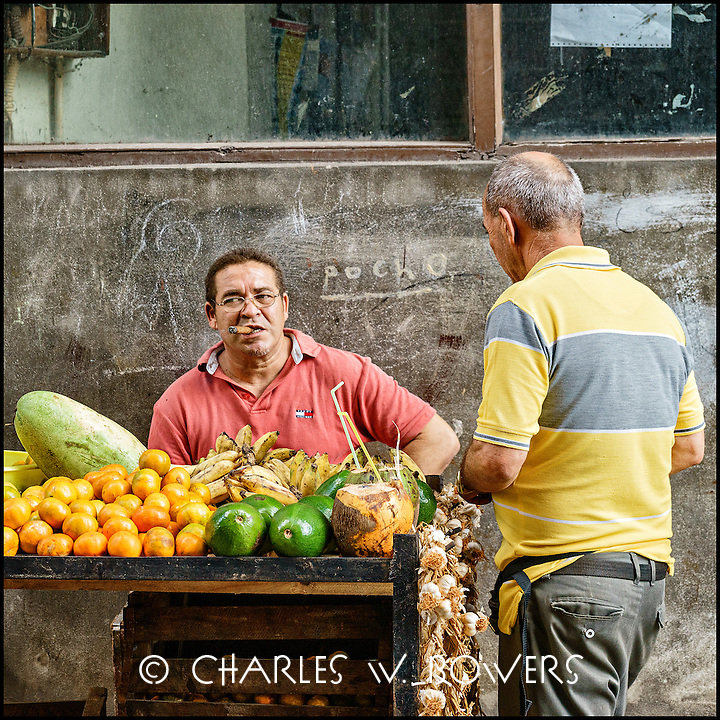 Faces Of Cuba - Local grocery on the street. Fresh and delicious.<br /> <br /> - Limited edition of 50 prints.