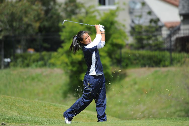 VALLEJO, CA - APRIL 20:  Danielle Kang of the Pepperdine Waves during the final round of the WCC Golf Championships on April 20, 2010 in Vallejo, California.