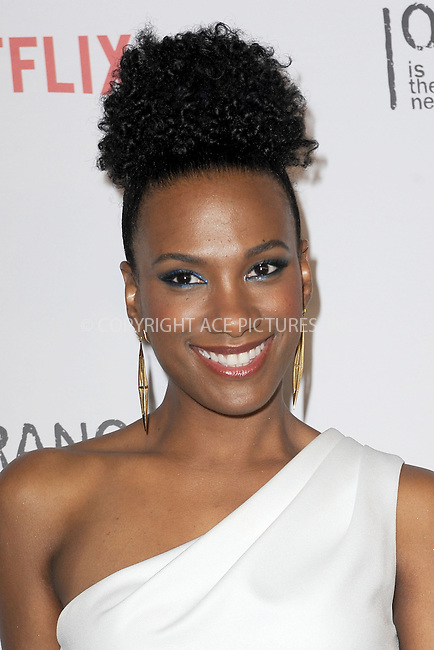 WWW.ACEPIXS.COM<br /> June 11, 2015 New York City<br /> <br /> Vicky Jeudy attending the 'Orangecon' Fan Event at Skylight Clarkson SQ on June 11, 2015 in New York City.<br /> <br /> Credit : Kristin Callahan/ACE Pictures<br /> Tel: (646) 769 0430<br /> e-mail: info@acepixs.com<br /> web: http://www.acepixs.com
