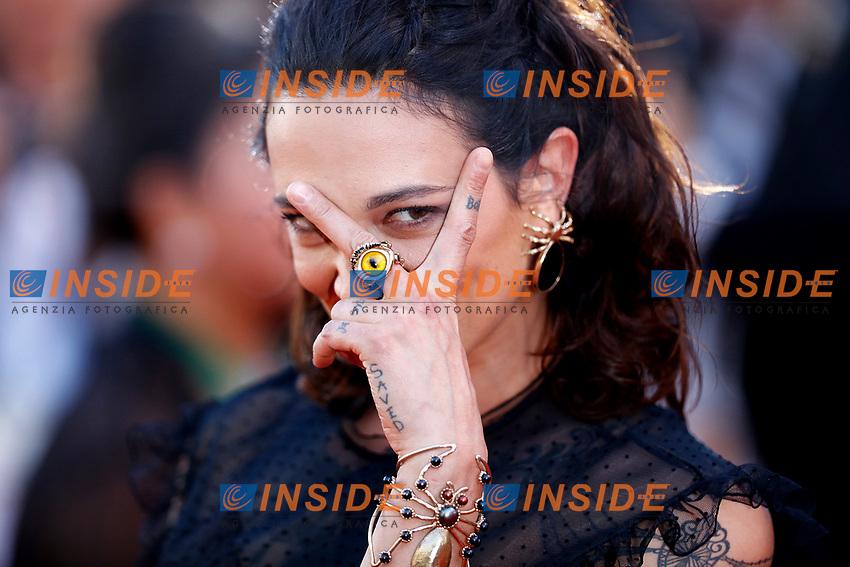 Asia Argento<br /> Cannes 17-05-2017 70&deg;Edizione Festival del Cinema di Cannes. Cerimonia d'apertura<br /> Foto Panoramic / Insidefoto