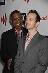 Denis O'Hare (True Blood) & guest at the 22nd Annual Glaad Media Awards honoring Ricky Martin (GH) & Russell Simmons on March 19, 2011 at the New York Marriott Marquis, New York City, New York. (Photo by Sue Coflin/Max Photos)