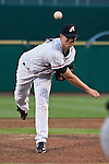 Reno Aces starting pitcher Charles Brewer throws agianst the Albuquerque Isotopes during their game on Friday night August 10, 2012 at Aces Ballpark in Reno NV.
