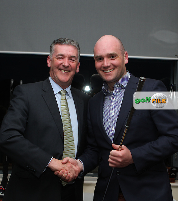 at the Hilary Golf Society Presentation at Sutton Golf Course...(Photo Jenny Matthews/www.golffile.ie)