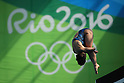 Minami Itahashi (JPN), <br /> AUGUST 18, 2016 - Diving : <br /> Women's 10m Platform Semi-final <br /> at Maria Lenk Aquatic Centre <br /> during the Rio 2016 Olympic Games in Rio de Janeiro, Brazil. <br /> (Photo by Yohei Osada/AFLO SPORT)