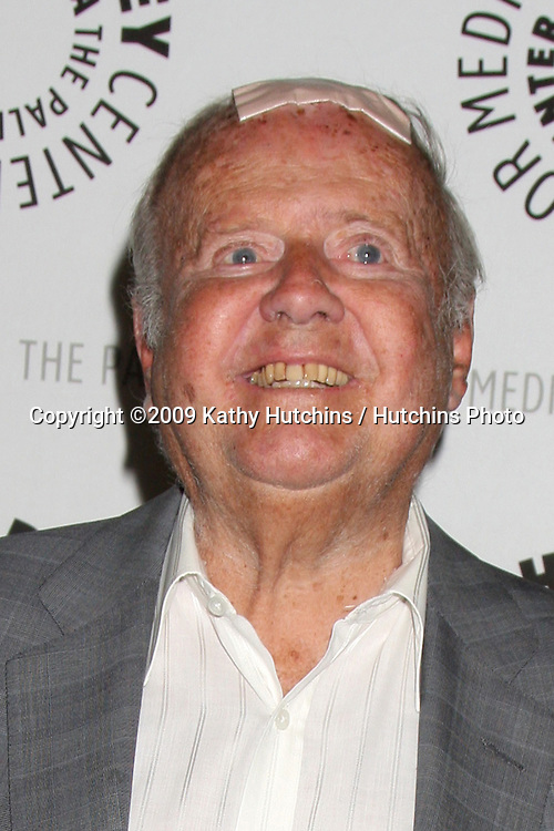"Dick Van Patten arriving at the world premiere screening of ""Farrah's Story"" at the Paley Center for Media in Beverly Hills, CA on May 13, 2009 .©2009 Kathy Hutchins / Hutchins Photo..\..                ."