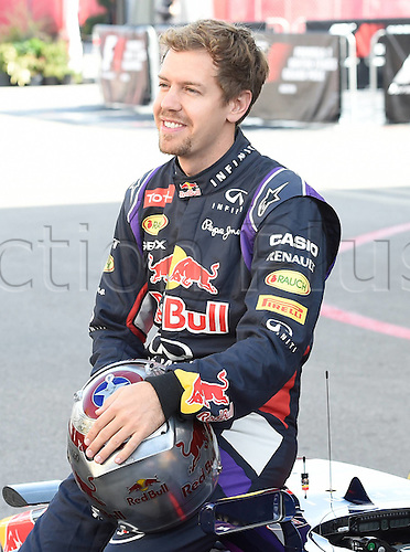02.11.2014. Austin Texas, USA. FIA Formula One World Championship 2014, Grand Prix of United States. Sebastian Vettel; Red Bull Racing