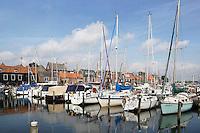 Nederland Spakenburg 2016. Jachthaven. Foto Berlinda van Dam / Hollandse Hoogte